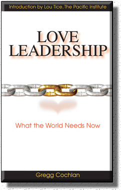 The cover of Love Leadership